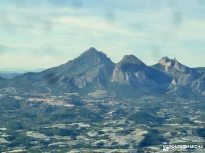 Peñón Ifach;Sierra Helada;Puig Campana;Sierra Bernia;rutas senderismo cordoba cabeza lijar bosque